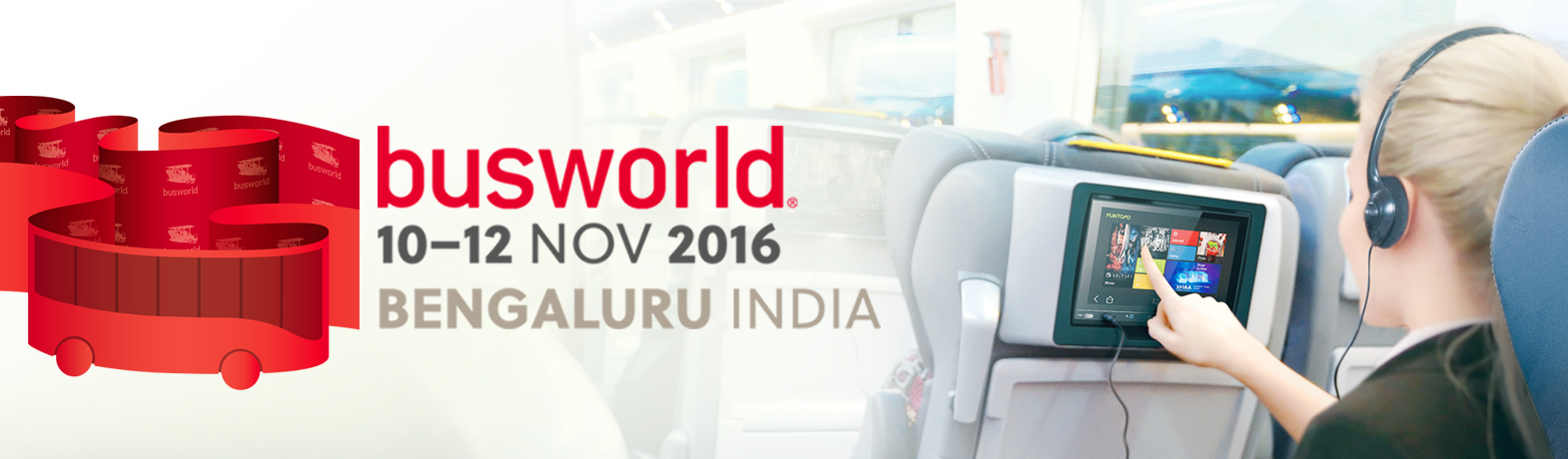 Welcome to visit MSI/FUNTORO (booth#B190) at Busworld India 2016