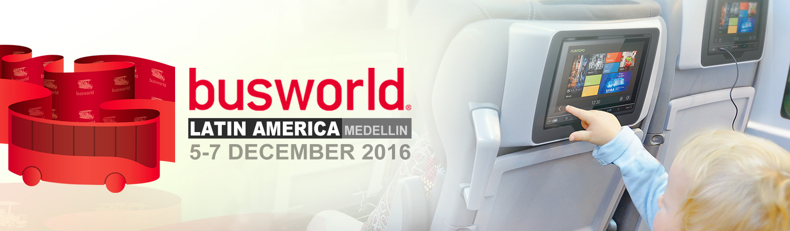 Welcome to visit MSI/FUNTORO (booth#AM110A) at Busworld Latin America 2016